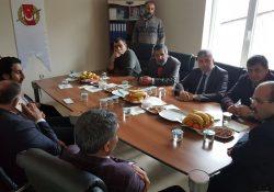 Bitlis valisi Ustaoğlu'ndan BİGACEM'e Ziyaret